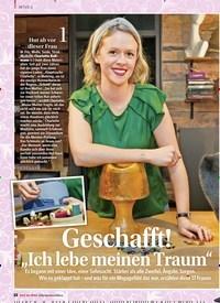 """Titelbild der Ausgabe 1/2018 von Geschafft! """"Ich lebe meinen Traum"""". Zeitschriften als Abo oder epaper bei United Kiosk online kaufen."""