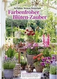 Titelbild der Ausgabe 2/2018 von Auf Balkon, Terrasse, Fensterbank: Farbenfroher Blüten-Zauber. Zeitschriften als Abo oder epaper bei United Kiosk online kaufen.