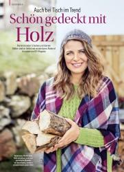 Titelbild der Ausgabe 2/2018 von Auch bei Tisch im Trend: Schön gedeckt mit Holz. Zeitschriften als Abo oder epaper bei United Kiosk online kaufen.
