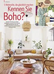 Titelbild der Ausgabe 2/2018 von ENTDECKEN: 5 Wohnstile, die glücklich machen: Kennen Sie Boho?. Zeitschriften als Abo oder epaper bei United Kiosk online kaufen.