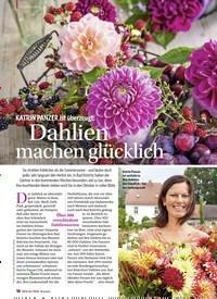 Titelbild der Ausgabe 2/2019 von DEKORIEREN: KATRIN PANZER ist überzeugt: Dahlien machen glücklich. Zeitschriften als Abo oder epaper bei United Kiosk online kaufen.