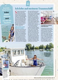 Titelbild der Ausgabe 1/2018 von Ich lebe auf meinem Traumschiff!. Zeitschriften als Abo oder epaper bei United Kiosk online kaufen.