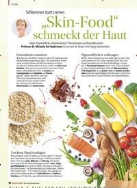 """Titelbild der Ausgabe 1/2020 von Schlemmen statt cremen: """"Skin-Food"""" schmeckt der Haut. Zeitschriften als Abo oder epaper bei United Kiosk online kaufen."""