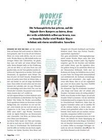Titelbild der Ausgabe 1/2019 von Wookie Mayer. Zeitschriften als Abo oder epaper bei United Kiosk online kaufen.