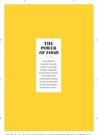 Titelbild der Ausgabe 3/2020 von THE POWER OF FOOD. Zeitschriften als Abo oder epaper bei United Kiosk online kaufen.