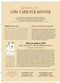 Titelbild der Ausgabe 1/2020 von Gewusst, wie … LOW CARB FÜR KÖNNER. Zeitschriften als Abo oder epaper bei United Kiosk online kaufen.