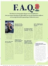 Titelbild der Ausgabe 2/2021 von F. A. Q.. Zeitschriften als Abo oder epaper bei United Kiosk online kaufen.