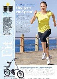 Titelbild der Ausgabe 3/2018 von So wirkt Joggen noch intensiver: Und jetzt ein Sprint!. Zeitschriften als Abo oder epaper bei United Kiosk online kaufen.