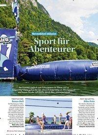 Titelbild der Ausgabe 3/2018 von Nervenkitzel inklusive: Sport für Abenteurer. Zeitschriften als Abo oder epaper bei United Kiosk online kaufen.