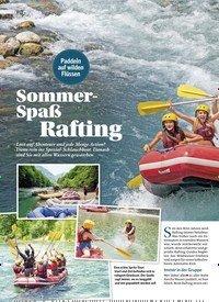 Titelbild der Ausgabe 4/2018 von Sommer-Spaß Rafting. Zeitschriften als Abo oder epaper bei United Kiosk online kaufen.