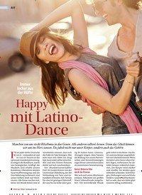 Titelbild der Ausgabe 4/2019 von Immer locker aus der Hüfte Happy mit Latino- Dance. Zeitschriften als Abo oder epaper bei United Kiosk online kaufen.