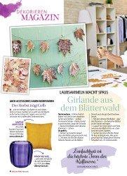Titelbild der Ausgabe 2/2018 von LAUBSAMMELN MACHT SPASS: Girlande aus dem Blätterwald. Zeitschriften als Abo oder epaper bei United Kiosk online kaufen.