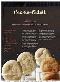 Titelbild der Ausgabe 4/2019 von Cookie-Oktett. Zeitschriften als Abo oder epaper bei United Kiosk online kaufen.
