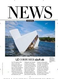 Titelbild der Ausgabe 9/2018 von NEWS: LE CORBUSIER säuft ab. Zeitschriften als Abo oder epaper bei United Kiosk online kaufen.