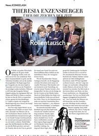 Titelbild der Ausgabe 9/2018 von ICONOCLASH: THERESIA ENZENSBERGER: ÜBER DIE ZEICHEN DER ZEIT. Zeitschriften als Abo oder epaper bei United Kiosk online kaufen.
