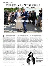 Titelbild der Ausgabe 10/2018 von News.ICONOCLASH: THERESIA ENZENSBERGER ÜBER DIE ZEICHEN DER ZEIT. Zeitschriften als Abo oder epaper bei United Kiosk online kaufen.