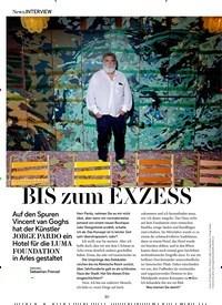 Titelbild der Ausgabe 10/2018 von News.INTERVIEW: BIS zum EXZESS. Zeitschriften als Abo oder epaper bei United Kiosk online kaufen.