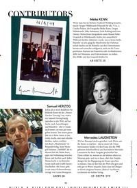 Titelbild der Ausgabe 11/2018 von CONTRIBUTORS. Zeitschriften als Abo oder epaper bei United Kiosk online kaufen.