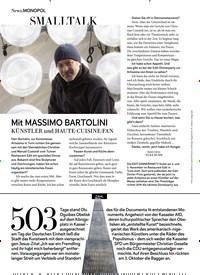 Titelbild der Ausgabe 11/2018 von SMALLTALK: Mit MASSIMO BARTOLINI. Zeitschriften als Abo oder epaper bei United Kiosk online kaufen.