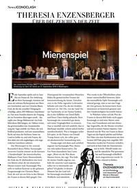 Titelbild der Ausgabe 11/2018 von ICONOCLASH: Mienenspiel: THERESIA ENZENSBERGER. Zeitschriften als Abo oder epaper bei United Kiosk online kaufen.