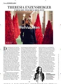 Titelbild der Ausgabe 1/2019 von ICONOCLASH: THERESIA ENZENSBERGER ÜBER DIE ZEICHEN DER ZEIT. Zeitschriften als Abo oder epaper bei United Kiosk online kaufen.
