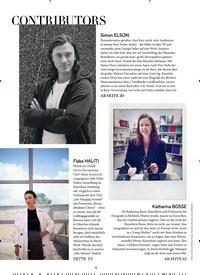 Titelbild der Ausgabe 2/2019 von CONTRIBUTORS. Zeitschriften als Abo oder epaper bei United Kiosk online kaufen.