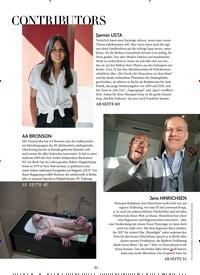 Titelbild der Ausgabe 3/2019 von CONTRIBUTORS. Zeitschriften als Abo oder epaper bei United Kiosk online kaufen.