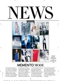 Titelbild der Ausgabe 3/2019 von MEMENTO MODE. Zeitschriften als Abo oder epaper bei United Kiosk online kaufen.