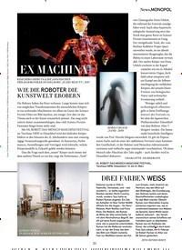 Titelbild der Ausgabe 3/2019 von EX MACHINA. Zeitschriften als Abo oder epaper bei United Kiosk online kaufen.