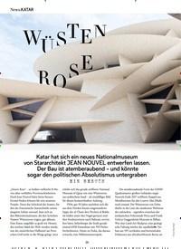 Titelbild der Ausgabe 4/2019 von KATAR: WÜSTEN RO SE. Zeitschriften als Abo oder epaper bei United Kiosk online kaufen.