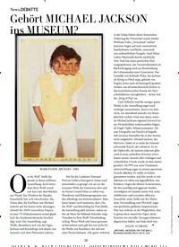 Titelbild der Ausgabe 4/2019 von DEBATTE: Gehört MICHAEL JACKSON _ns MUSEUM?. Zeitschriften als Abo oder epaper bei United Kiosk online kaufen.