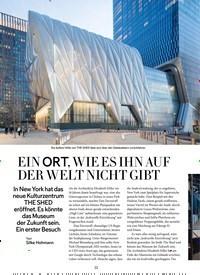 Titelbild der Ausgabe 5/2019 von MONOPOL: EIN ORT, WIE ES IHN AUF DER WELT NICHT GIBT. Zeitschriften als Abo oder epaper bei United Kiosk online kaufen.