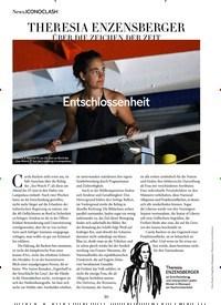 Titelbild der Ausgabe 9/2019 von News.ICONOCLASH: THERESIA ENZENSBERGER ÜBER DIE ZEICHEN DER ZEIT. Zeitschriften als Abo oder epaper bei United Kiosk online kaufen.