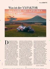Titelbild der Ausgabe 9/2019 von News.DEBATTE: Was ist der XX-FAKTOR der COMIC-SKULPTUREN von KAWS?. Zeitschriften als Abo oder epaper bei United Kiosk online kaufen.