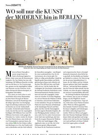 Titelbild der Ausgabe 11/2019 von WO soll nur die KUNST der MODERNE hin in BERLIN?. Zeitschriften als Abo oder epaper bei United Kiosk online kaufen.