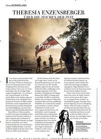 Titelbild der Ausgabe 12/2019 von ICONOCLASH: THERESIA ENZENSBERGER: ÜBER DIE ZEICHEN DER ZEIT: Protest. Zeitschriften als Abo oder epaper bei United Kiosk online kaufen.