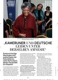 """Titelbild der Ausgabe 1/2020 von """"KAMERUNER UND DEUTSCHE LEIDEN UNTER DERSELBEN AMNESIE"""". Zeitschriften als Abo oder epaper bei United Kiosk online kaufen."""
