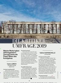 Titelbild der Ausgabe 1/2020 von DIE KRITIKERUMFRAGE 2019. Zeitschriften als Abo oder epaper bei United Kiosk online kaufen.