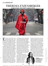 Titelbild der Ausgabe 3/2020 von ICONOCLASH: THERESIA ENZENSBERGER ÜBER DIE ZEICHEN DER ZEIT. Zeitschriften als Abo oder epaper bei United Kiosk online kaufen.