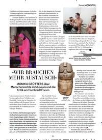 Titelbild der Ausgabe 3/2020 von »WIR BRAUCHEN MEHR AUSTAUSCH«. Zeitschriften als Abo oder epaper bei United Kiosk online kaufen.