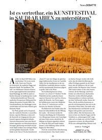 Titelbild der Ausgabe 3/2020 von Ist es vertretbar, ein KUNSTFESTIVAL in SAUDI-ARABIEN zu unterstützen?. Zeitschriften als Abo oder epaper bei United Kiosk online kaufen.