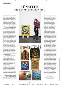 Titelbild der Ausgabe 4/2020 von WATCHLIST: KÜNSTLER, DIE UNS AUFGEFALLEN SIND. Zeitschriften als Abo oder epaper bei United Kiosk online kaufen.