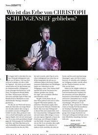 Titelbild der Ausgabe 4/2020 von DEBATTE: Wo ist das Erbe von CHRISTOPH SCHLINGENSIEF geblieben?. Zeitschriften als Abo oder epaper bei United Kiosk online kaufen.