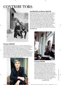 Titelbild der Ausgabe 9/2020 von CONTRIBUTORS. Zeitschriften als Abo oder epaper bei United Kiosk online kaufen.