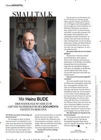 Titelbild der Ausgabe 9/2020 von Mit Heinz BUDE. Zeitschriften als Abo oder epaper bei United Kiosk online kaufen.