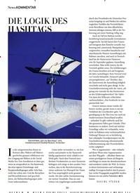 Titelbild der Ausgabe 9/2020 von .KOMMENTAR: DIE LOGIK DES HASHTAGS. Zeitschriften als Abo oder epaper bei United Kiosk online kaufen.