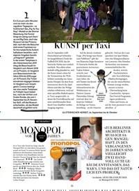 Titelbild der Ausgabe 10/2020 von KUNST per Taxi. Zeitschriften als Abo oder epaper bei United Kiosk online kaufen.