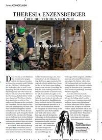 Titelbild der Ausgabe 10/2020 von News.ICONOCLASH: THERESIA ENZENSBERGER. Zeitschriften als Abo oder epaper bei United Kiosk online kaufen.