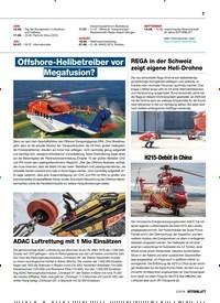 Titelbild der Ausgabe 2/2019 von Offshore-Helibetreiber vor Megafusion?. Zeitschriften als Abo oder epaper bei United Kiosk online kaufen.