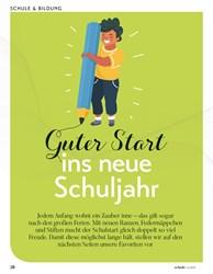 Titelbild der Ausgabe 4/2019 von Guter Start: ins neue Schuljahr. Zeitschriften als Abo oder epaper bei United Kiosk online kaufen.